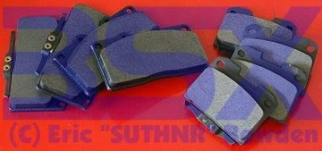 Picture of TT&NA Stillen Brake Pads All Years