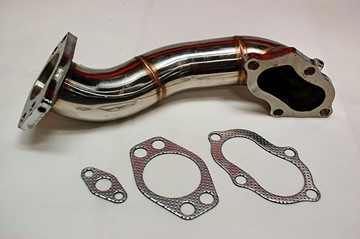 Picture of 3SX TT / VR4 Pre-Cat Eliminator Pipe Rear PreCat 3000GT/Stealth