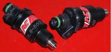 Picture of Fuel Injectors: RC Engineering 370cc, 550cc, 750cc, 1000cc RC Injectors Mitsubishi Style 3000GT Stealth