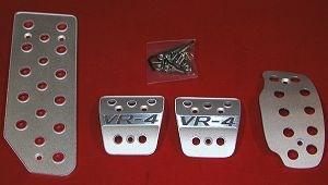 Picture of Custom Aluminum Pedal Covers Aluminum Pedals - 3000GT Stealth