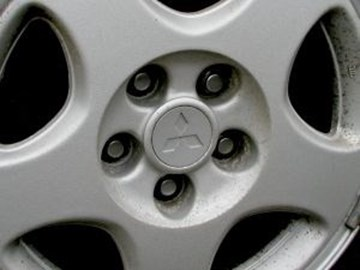 Picture of Center Caps for OEM Rims Mitsubishi 3000GT Wheels