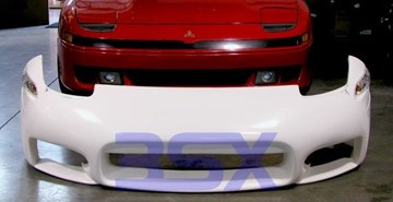 Picture of 3SX Custom Fiberglass 99 Bumper 91-93 3000GT