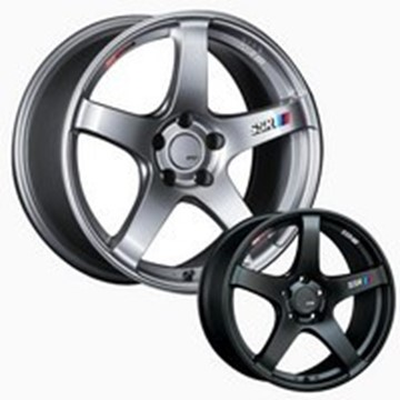 Picture of SSR Wheels GTV01 Aluminum Wheels - Flat Black & Phantom Silver