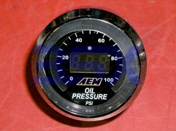 Picture of AEM Pressure Gauge Fuel or Oil
