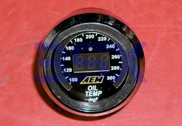 Picture of AEM Temperature Gauge Water or Oil or Transmission