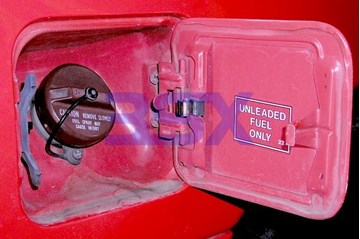 Picture of Fuel Filler Gas Door + Rear Hatch Hardware - Spring, Cables, Latches, Bolts