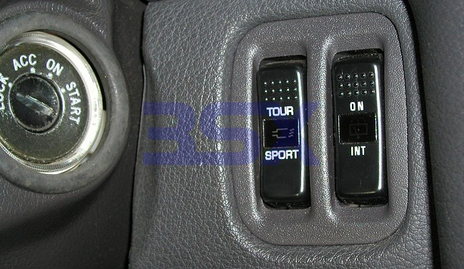 Picture of Switches & Panels for Rear Wiper Switch + Active Exhaust Switch