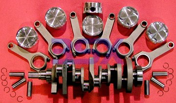 Picture of Custom Stroker Kit for 6G72 - Brian Crower Billet Crankshaft, 3SX Rods, Ross Pistons - COMPLETE!