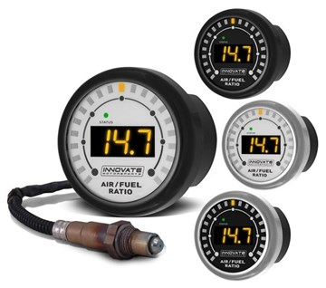 Picture of Innovate MTX-L Standalone Wideband Air-Fuel Gauge with Built-In Controller and Sensor 3844 / 3845