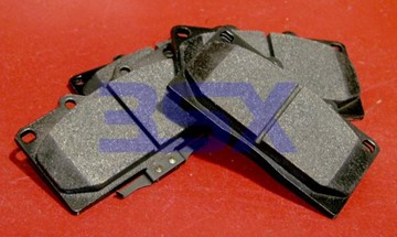 Picture of TT & NA Centric Brake Pads Posi-Quiet OEM-Replacement 3000GT / Stealth