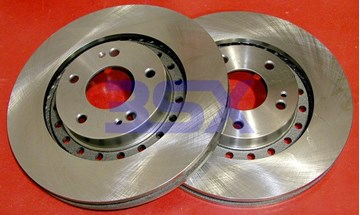 Picture of Centric Brake Rotors 3000GT / Stealth Smooth / Blank