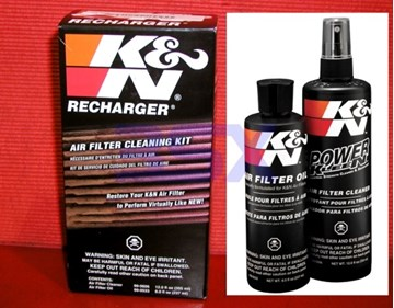 Picture of K&N Intake Filter Cleaning and Oiling Kit 99-5050