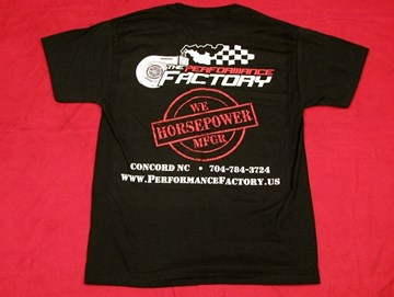 Picture of T-Shirt The Performance Factory Horsepower Stamp
