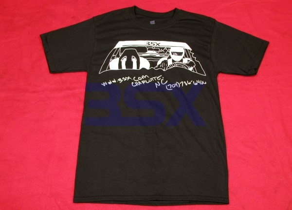 Picture of T-Shirt 3SX Driver Mountain Road 2-Sided