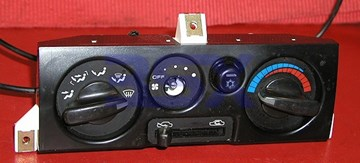 Picture of AC Control Unit - Manual Climate Control Assembly and Parts Switches AC Knobs **NEW**