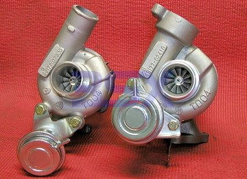 Picture of Turbos TD04 9B Stock Replacement 3000GT Stealth TD-04 NEW TURBOS!!!