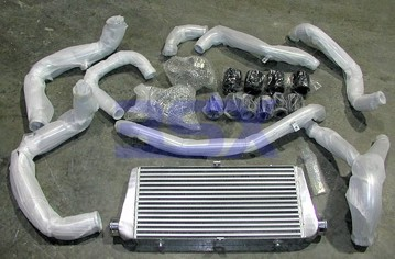 Picture of CXR FMIC Kit Front Mount Intercooler Big Single Core with Piping for TD04 Turbos 3000GT Stealth