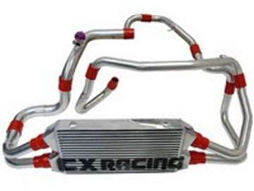Picture of CXRacing FMIC Kit Front Mount Intercooler Kit DUAL CORE - 3000GT Stealth