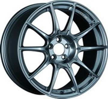 Picture of SSR Wheel GTX01 Aluminum Wheels - Flat Black & Dark Silver