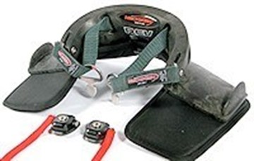 Picture of NecksGen REV Helmet Head and Neck Restraint System (similar to HANS device)