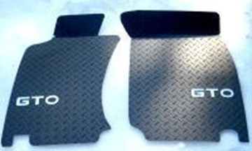 Picture of Diamond Plate Floormats 3000GT / Stealth - The Original!