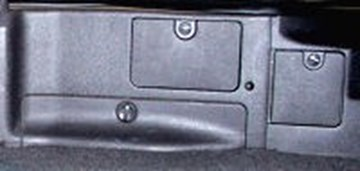 Picture of Interior Pop-Out Panels & Clips & Screw Cap Covers in Trunk 3000GT Stealth