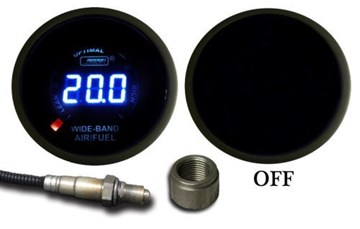 Picture of ProSport Gauge Peak - WIDEBAND Air Fuel Ratio - AMBER