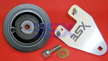 Picture of Crank Pulley Non-OEM 3S DOHC 92-99 - KIT with Tool+Bolt+Washer