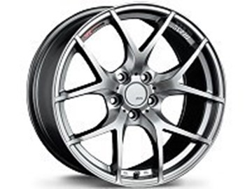 Picture of SSR Wheels GTV03 Aluminum Wheels - Flat Black & Phantom Silver