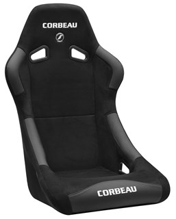 Picture of Corbeau Seat Forza - Black MicroSuede