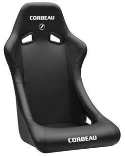 Picture of Corbeau Seat Forza - Black Vinyl