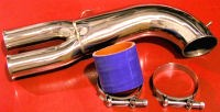Picture of 3SX Stainless Steel YPipe Intake Y-Pipe 3000GT VR4 Stealth Turbo