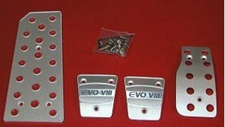 Picture of Aluminum Pedal Covers - EVO VIII