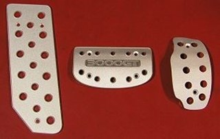 Picture of Aluminum Pedal Covers 3S - AUTOMATIC 3000GT