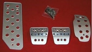 Picture of Aluminum Pedal Covers 3S - GTO