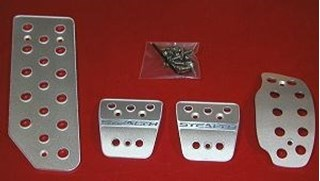 Picture of Aluminum Pedal Covers 3S - Stealth
