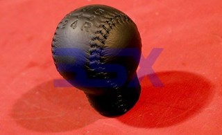 Picture of Shift Knob EVO OEM Black Leather 5-spd