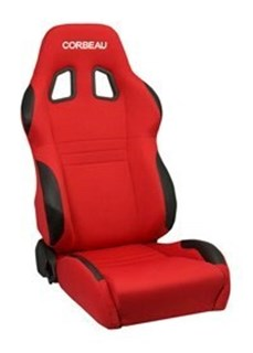 Picture of Corbeau Seat A4 - Red Cloth