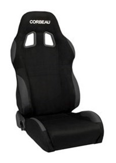 Picture of Corbeau Seat A4 Wide - Black MicroSuede