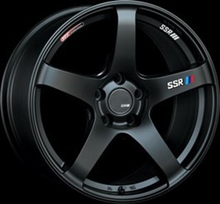 Picture of SSR Wheels GTV01 - Flat Black - 18x8.5 / +40 / 5x114.3 - Set of 4