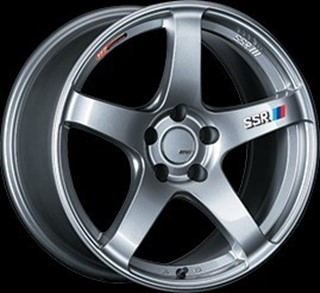 Picture of SSR Wheels GTV01 - Glare Silver - 18x8.5 / +40 / 5x114.3 - Set of 4