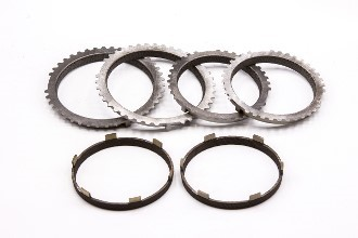 Picture of Transmission Carbon High Performance Synchro Rings, 6-Speed Complete Set 1-6