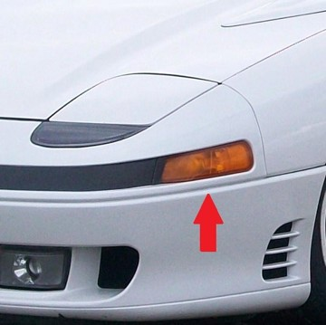 Picture of OEM Mitsubishi Corner Lights Turn Signals Front Indicators Corners for 3000GT 91-99 - DISCONTINUED