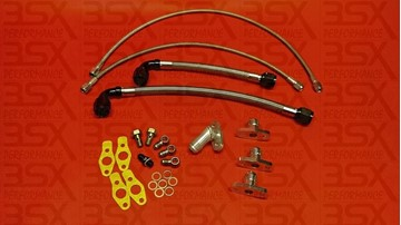 Picture of 3SX Turbo Oil Line Kit for TD04 Turbos