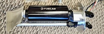Picture of 3SX Custom Fuel Kits - Bulkhead Sending Unit w/ FueLab Prodigy Fuel Pump