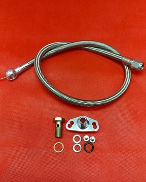 Picture of 3SX Fuel Kit UH20 - Fuel Filter to Fuel Rail - SS Lines and Fittings