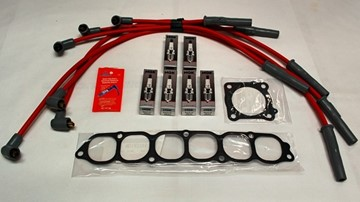 Picture of 3SX Tune Up Kit - IGNITION - Spark Plugs + 3SX/MSD Plug Wires + Gaskets 60k