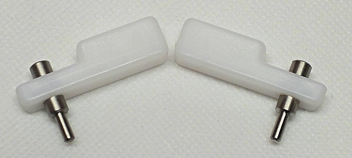 Picture of Active Aero Rear Spoiler Wing Clips PAIR