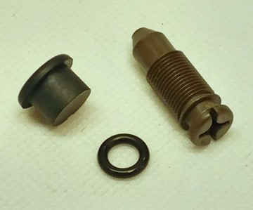 Picture of Throttle Body Idle Adjustment Screw & Components