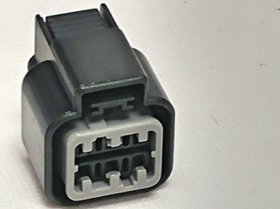 Picture of Wiring Connectors Harness Plugs 3SX - 6-pin Oval 2x3